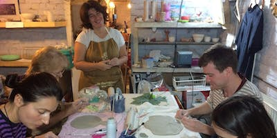 OPEN WORKSHOP Make your own ceramic object  Wednesday 13th November  18h00-20h30