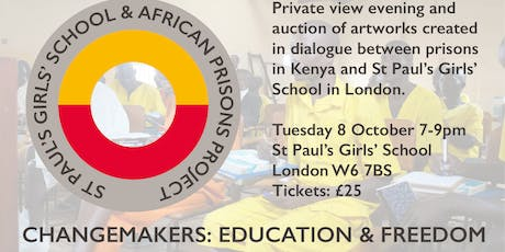 Changemakers: Education & Freedom Exhibition Fundraiser tickets