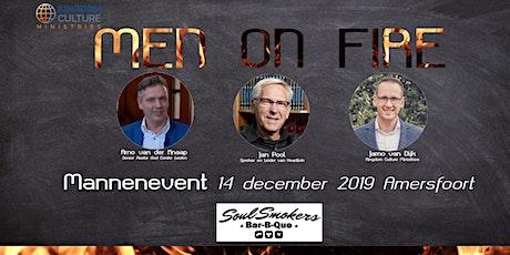 Men on Fire | Mannenevent tickets