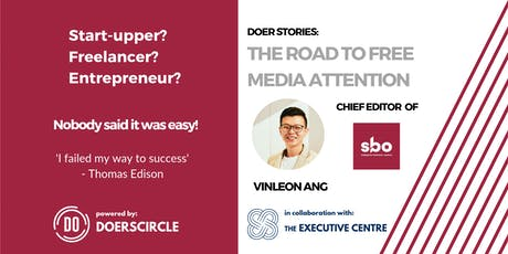 Doer Stories: The Road To Free Media Attention! tickets