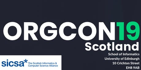 ORGCon Scotland tickets