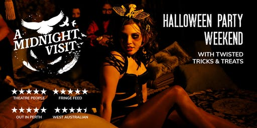 A Midnight Visit | HALLOWEEN PARTY: Thurs 31 Oct