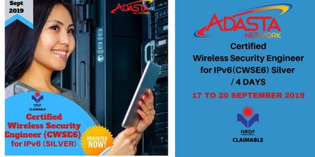 Certified Wireless Security Engineer for IPv6 (CWSE6) Silver / 4 DAYS tickets