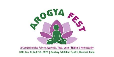Arogya Fest tickets