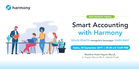 """[Paid event] Hands-on Training """"Smart Accounting With Harmony"""" tickets"""