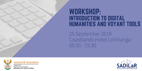 Introduction to Digital Humanities and Voyant Tools tickets