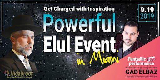 Powerful Elul Event in Miami
