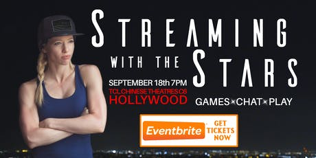 "Streaming With The Stars: guest ""Hustlerette"" Gears of War Competitive Player tickets"
