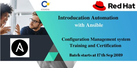 Learn Automation with Ansible tickets
