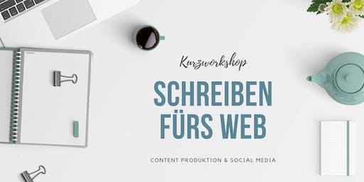 Schreiben fürs Web - Content & Social Media Kurzworkshop