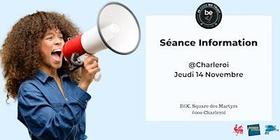 Séance Information – BeCode Charleroi
