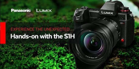 Hands-on with the Panasonic Lumix S1H tickets