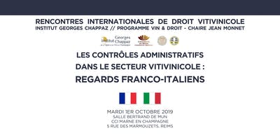 Rencontres internationales de droit vitivinicole