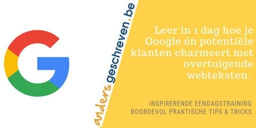 SEO copy workshop   22 november 2019   Wijnegem (volledige dag)