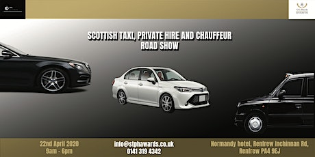 Scottish Taxi, Private Hire and Chauffeur Road Show tickets