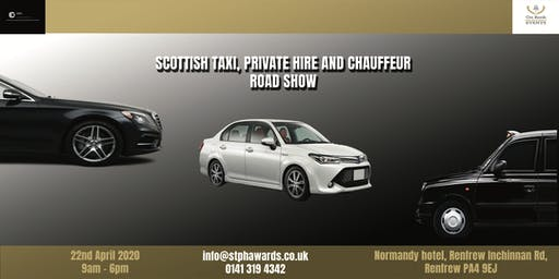 Scottish Taxi, Private Hire and Chauffeur Road Show