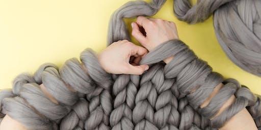 Arm Knit a Throw Workshop