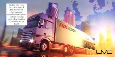 Hikvision Roadshow 2019 i Oslo. Siste nytt innen kameraovervåkning