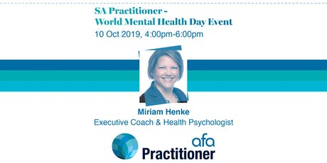 SA Practitioner World Mental Health Day Event tickets