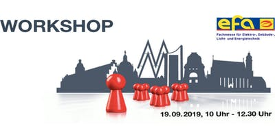 RISK CHECK Workshop auf der efa Leipzig