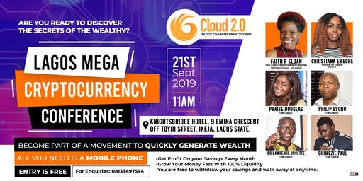 LAGOS MEGA CRYPTOCURRENCY CONFERENCE