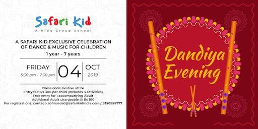 Dandiya Evening- Safari Kid Sector 47