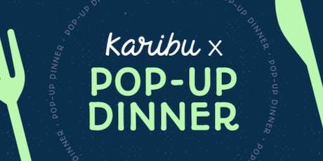 POPUP DINNER | CROSSING BORDERS with KARIBU tickets