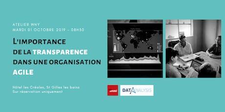 Atelier WHY - L'importance de la transparence dans une organisation AGILE tickets