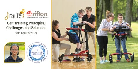 Gait Training Principles, Challenges and Solutions - CPD Event  tickets
