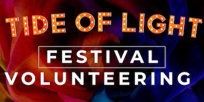 Festival Volunteering - Tide of Light 2019