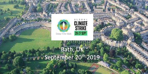 Global Climate Strike - Bath Deep Time Walk