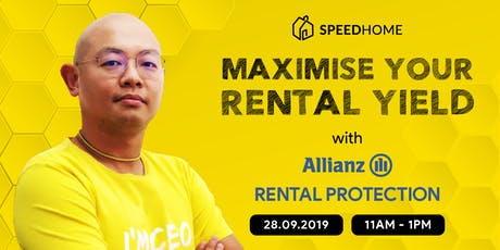 [FREE] Maximise Your Rental Yield with Allianz Rental Protection Seminar tickets