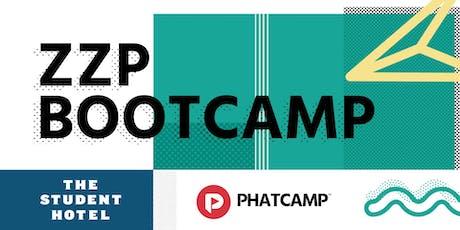 Phatcamp: ZZP Bootcamp - De basics van ondernemen tickets