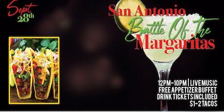 San Antonio Battle Of The Margaritas tickets