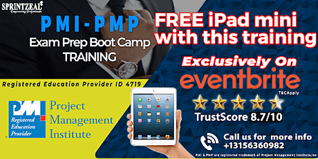 PMP® Certification Training in Boone tickets