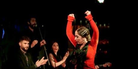 Espectáculo de flamenco en Larios Café con Tapas entradas