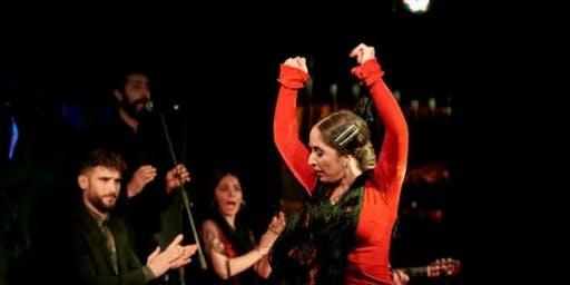 Espectáculo de flamenco en Larios Café con Tapas
