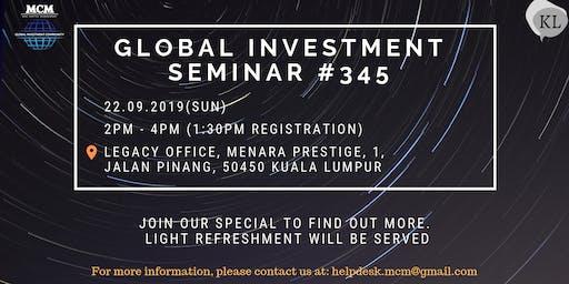 Global Investment Seminar #345