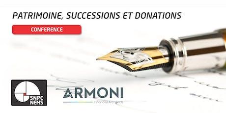 BRUXELLES - Patrimoine, succession et donations billets