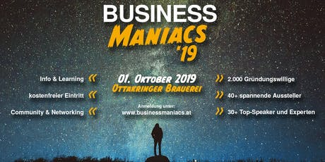 Business Maniacs Tickets