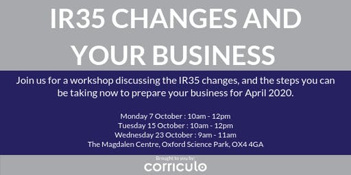 IR35 Changes and Your Business