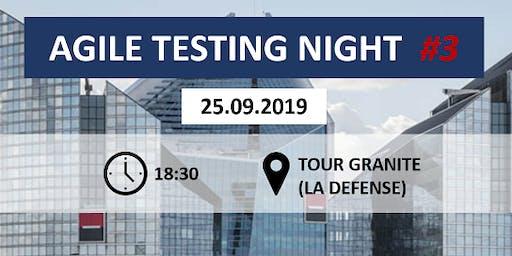 Meetup | Agile Testing Night #3 @Société Générale