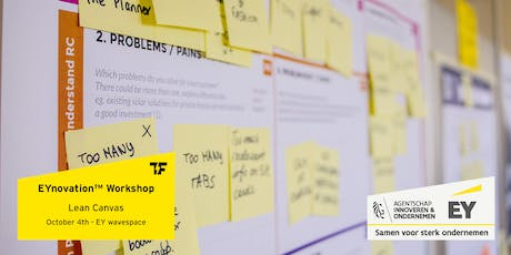 EYnovation™ Workshop | Lean Canvas ft. Carl Danneels tickets