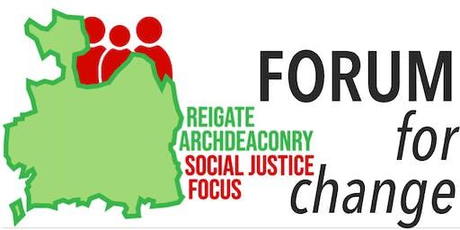FORUM for Change || Social Justice Focus
