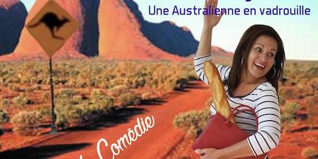 Stand-Up Comedy par une australienne, en français.  Sydney Londres Paris Darling. billets