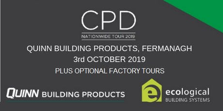 [Fermanagh] CPD Seminar: nZEB and Airtightness with optional factory tours tickets