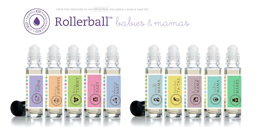 Babies and Mamas Make and Take Roller Blend Workshop