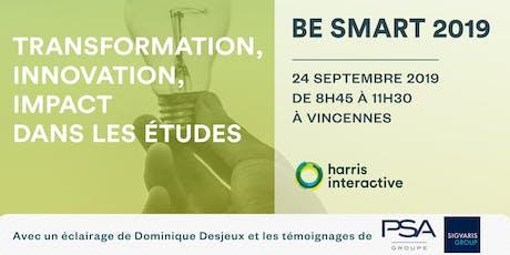 Be Smart : transformation, innovation, impact billets