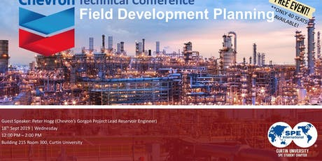 Chevron Technical Conference: Field Development Planning tickets