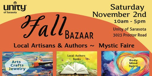 Unity of Sarasota Fall Bazaar and Mystic Faire